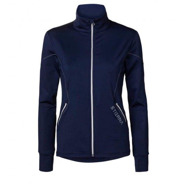Stierna Andromeda dame fleece jakke navy - Forårs tilbud SPAR KR. 200,-